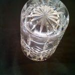 Vase en christal de bohême