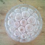 Pique fleurs en verre
